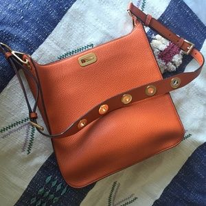 Michael Kors Leather Crossbody Messenger